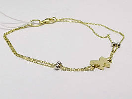 Золотий браслет. Артикул 322840Ж 18,5