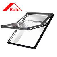 Мансардное окно Roto WDF R79 H N WD Al 7/14 (двухкамерный стеклопакет с Криптоном)