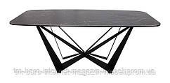 Стол обеденный WELLINGTON (180*90*76cmH керамика) черный, Nicolas
