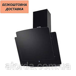 Вытяжка Ventolux ANCONA 60 BK (1000) TRC SD Наклонная Черная Стекло