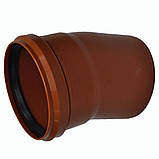 Колено ПВХ 160х15 для канализации, фото 5