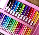 Набор юного художника для рисования и творчества в чемодане с мольбертом 208 предметов, фото 4