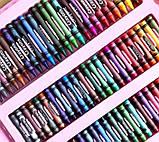 Набор юного художника для рисования и творчества в чемодане с мольбертом 208 предметов, фото 5