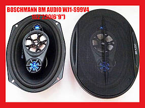 Автоакустика 16 см x 23 см 500W 4-х полосная (BOSCHMANN BM AUDIO WJ1-S99V4)