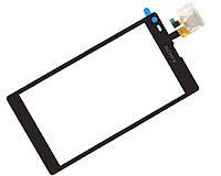 Touchscreen (сенсорный экран) для Sony Xperia L C2105/C2104 S36/S36h, оригинал (черный)