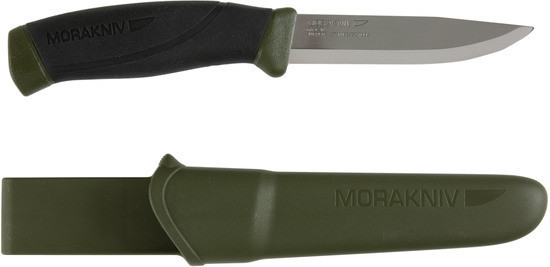 Туристический охотничий нож Mora Morakniv Companion MG Carbon 11863 Sweden