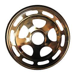 Защита колеса металлическая большая 18 см