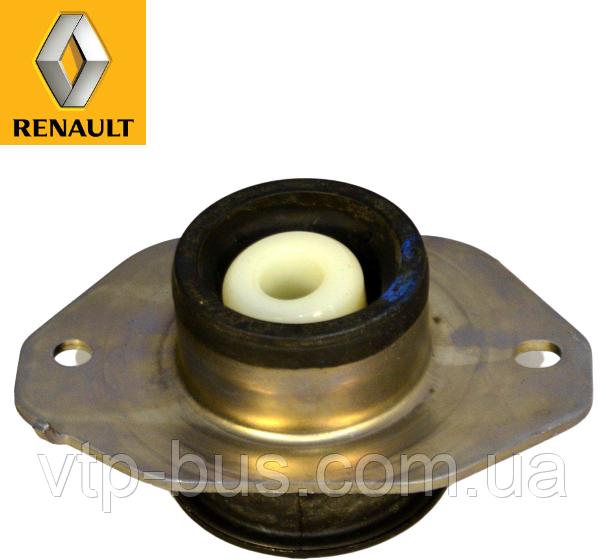 Подушка двигателя под КПП левая, круглая на Renault Trafic 2.5dCi (2003-2014) Renault (оригинал) 8200065989
