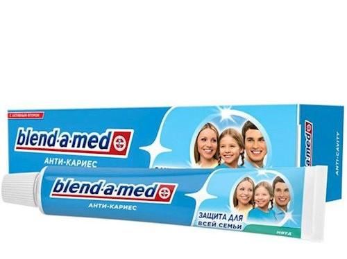 Зубна паста Blend-a-med Анти-карієс 50мл м'ята