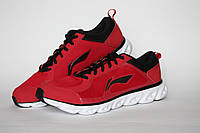 Фирменные мужские беговые кроссовки Li-ning 41-42 (26.5 см.) оригинал дышащие Li ning спортивная обувь спорт