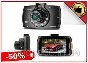 Автомобильный видеорегистратор DVR G30, Full HD обзор 170° ночное видения, видео регистратор в авто