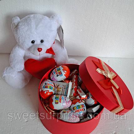 """Подарочный набор """"Киндер-сюрприз"""" (круглая коробка), фото 2"""