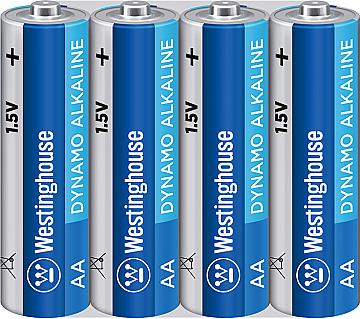 Щелочная батарейка AA/LR6 ( пальчиковые) Westinghouse 4шт