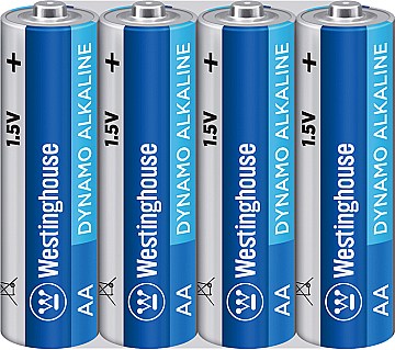 Щелочная батарейка AA/LR6 ( пальчиковые) Westinghouse 4шт, фото 2