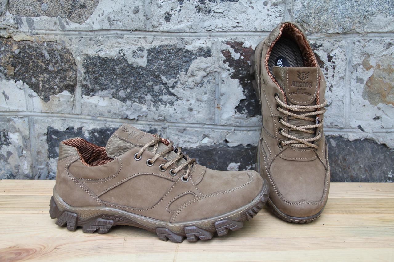 Тактические кроссовки из натуральной кожи Armos крос бежевый 1