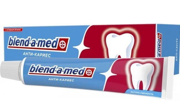 Зубна паста Blend-a-med Анти-карієс 50мл свіжість