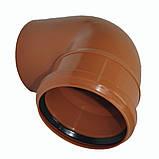 Колено ПВХ 200х67 для канализации, фото 4