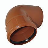Колено ПВХ 200х67 для канализации, фото 3