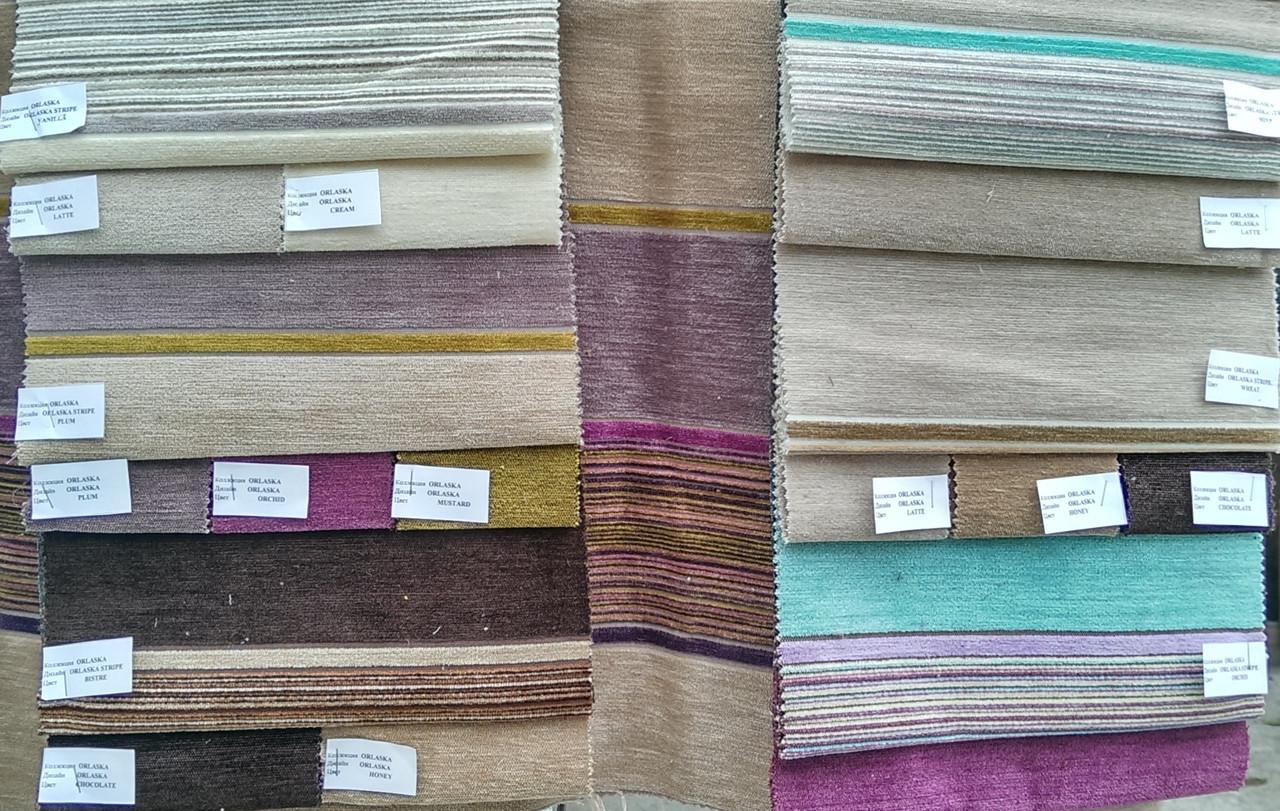 Мебельная ткань Шинилл коллекция ORLASKA