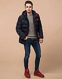 Подросток 13-17 лет | Куртка зимняя Braggart Teenager 75263 темно-синяя, фото 3