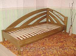 """Детская кровать из серии """"Радуга"""". Массив - ольха, береза, дуб., фото 2"""