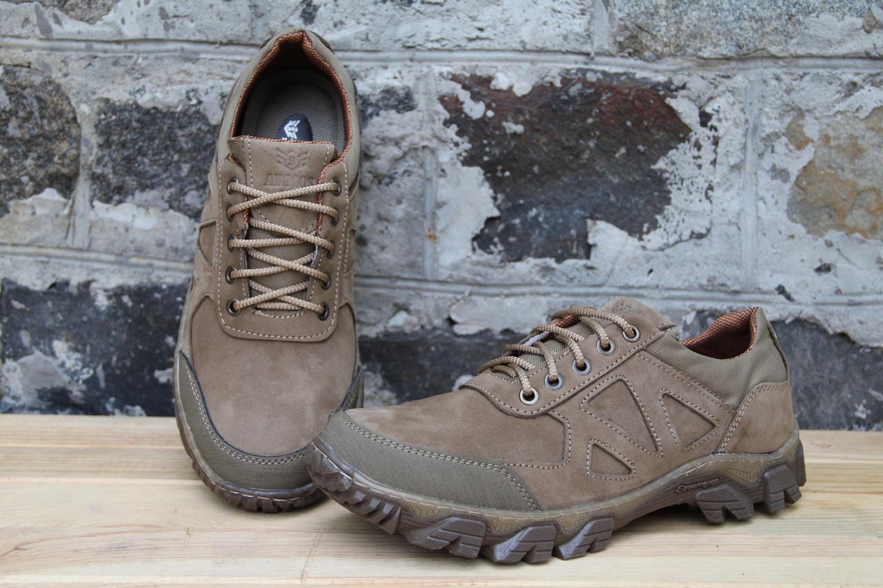Тактические кроссовки из натуральной кожи ARMOS беж 23