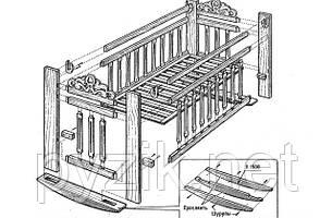 Инструкция по сборке кроваток