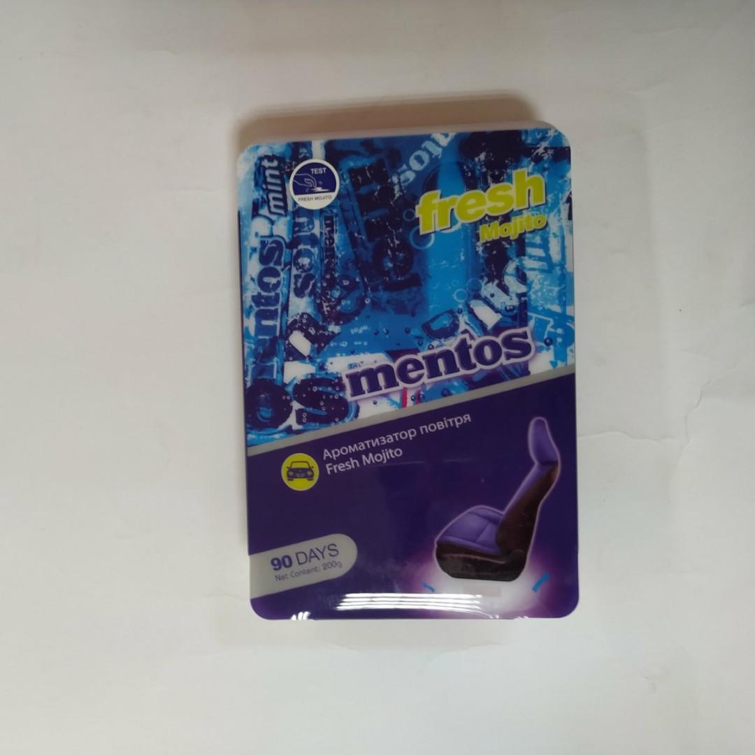 Ароматизатор  Mentos под сиденье мохито 200г MNT800