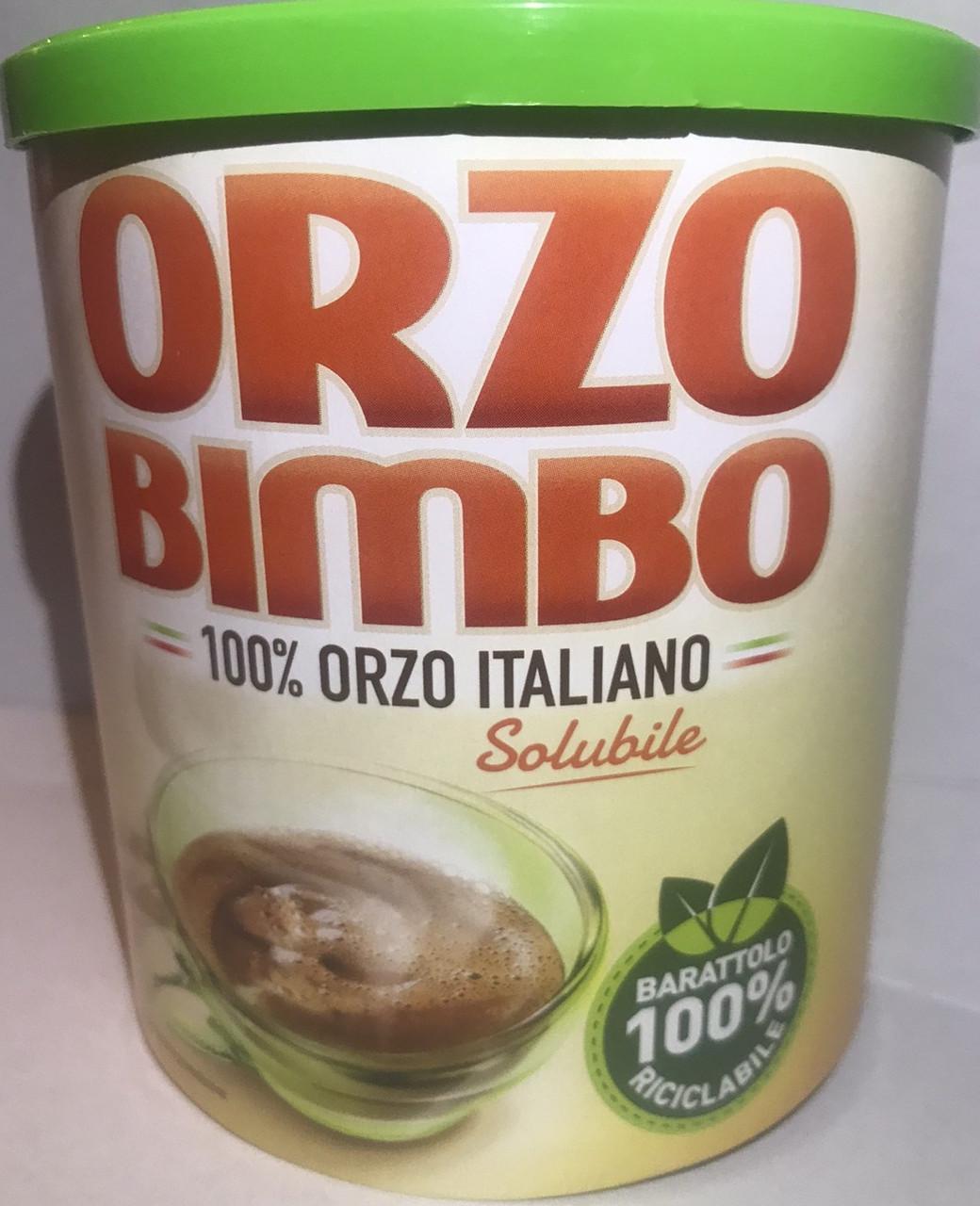 Ячменный кофе Orzo Bimbo 120гр Италия