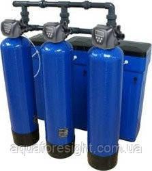 Система умягчения воды 3672 CI Triplex производительностью 39,3 м³/ч