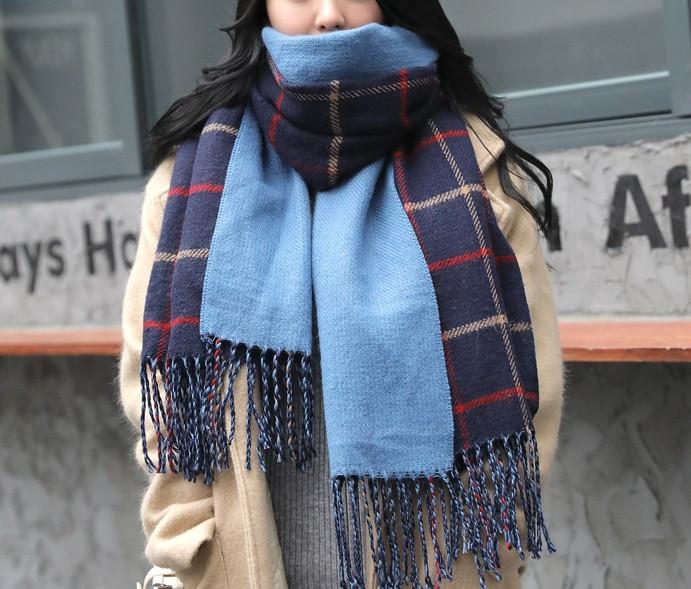 Стильний теплий шарф, накидка, палантин, платок