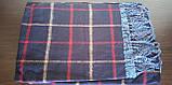 Стильний теплий шарф, накидка, палантин, платок, фото 8