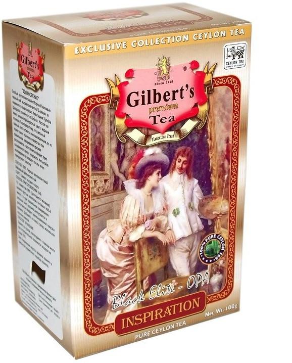 Крупнолистовой цейлонский черный чай Gilbert's Вдохновение 100 грамм