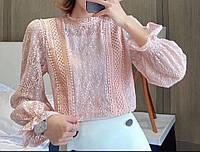 Блуза кружевная, фото 1