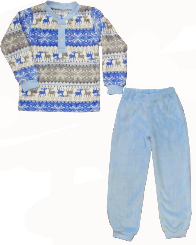 """Комплект-пижама для мальчика """"Скандинавские узоры"""""""