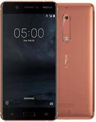 Смартфон нокиа золотистый с двойной камерой и отпечатком пальца на 1 сим карту Nokia 5 TA-1024 SS 2/16Gb gold