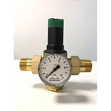 Редуктор тиску води Honeywell D06F-1В + манометр Honeywell M07M-A10