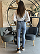 Женские молодежные джеггинсы , джинсы, пояс резинка, удобная посадка, р. 48,50 св.гол, фото 3
