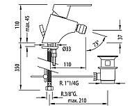 Смеситель для биде TRES BM 139120