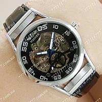 Часы мужские наручные Winner Silver/Black/Silver