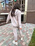 Костюм женский спортивный молодежный, высокое качество, стиль оверсайз, разные цвета р.хs, s, м, л Код 017И, фото 10