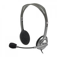 Наушники Logitech H110 Stereo Headset with 2*3pin jacks (981-000271)
