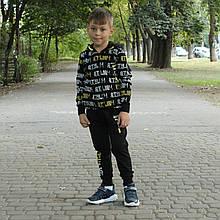 Спортивний костюм для хлопчика Чорний Туреччина р. 110, 116, 128