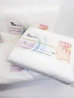 Полотенце одноразовое 40х80 гладкие белые нарезанные (100 шт в упаковке,Timpa)