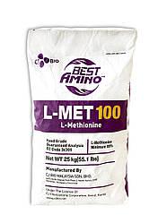 Аминокислота Метионин кормовий L MET 100,  99 % (фасовка 25 кг)