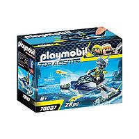 """Игровой набор """"Водный скутер команды А.К.У.Л.А."""" Playmobil (4008789700070)"""