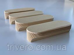 Мебельная ручка деревянная (Овальная)