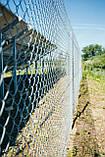 Сетка Рабица оцинкованная 60х60, Ø 2,5 мм, высота 1,20 м, рулон 10 м, фото 5