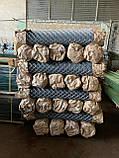 Сетка Рабица оцинкованная 60х60, Ø 2,5 мм, высота 1,20 м, рулон 10 м, фото 6