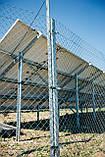 Сетка Рабица оцинкованная 60х60, Ø 2,5 мм, высота 1,20 м, рулон 10 м, фото 8